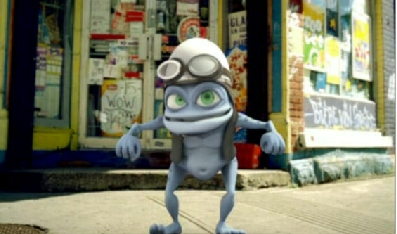 cha cha slide [Crazy Frog Party]