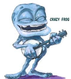 crazy frog:shaapsan:So-net b...